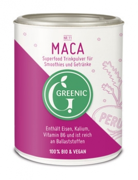 Maca Superfood Trinkpulver 120g Greenic