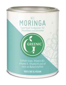 Moringa Superfood Trinkpulver 100g Greenic